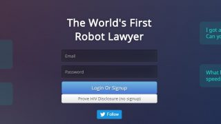 チャットBotが社会を改善するのに役立った事例「DoNotPay」